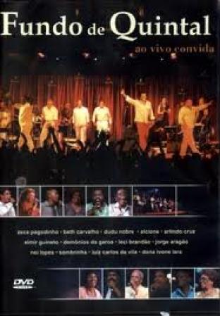 Fundo De Quintal - Ao Vivo Convida DVD