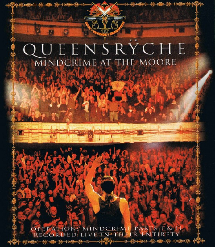 QUEENSRYCHE - MINDCRIME AT THE MOORE BLU RAY