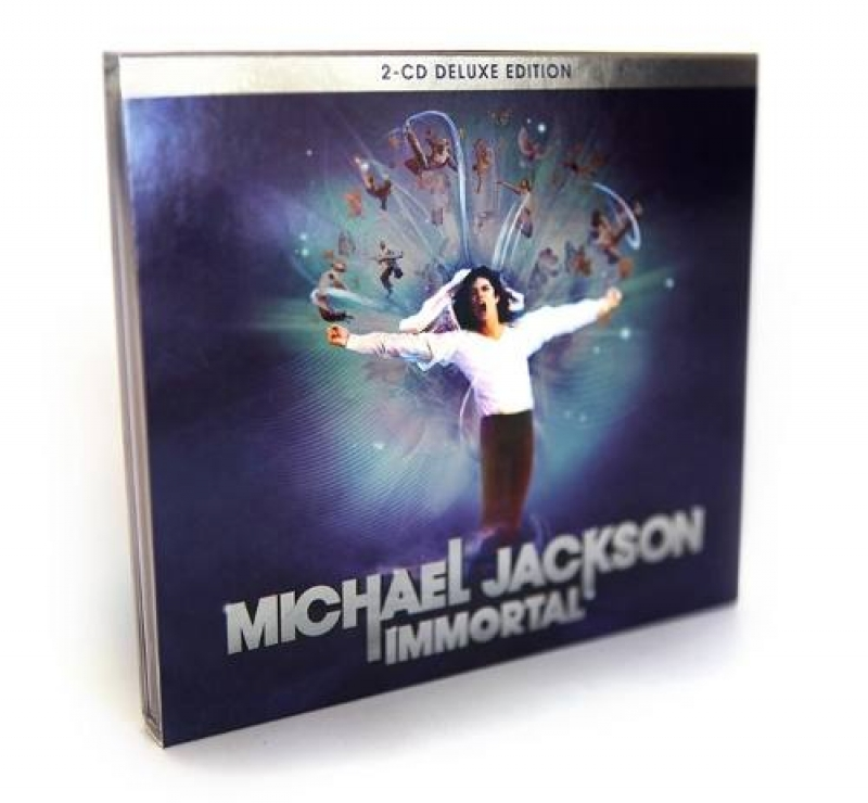 Michael Jackson - Immortal Deluxe Edition CD DUPLO