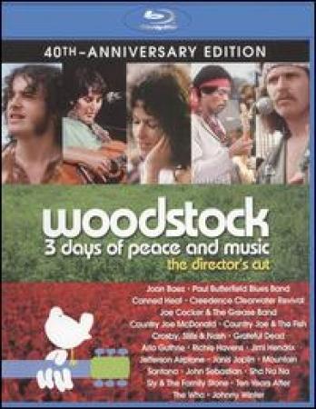 WOODSTOCK 3 DAYS OF PEACE & MUSIC (BLU-RAY)
