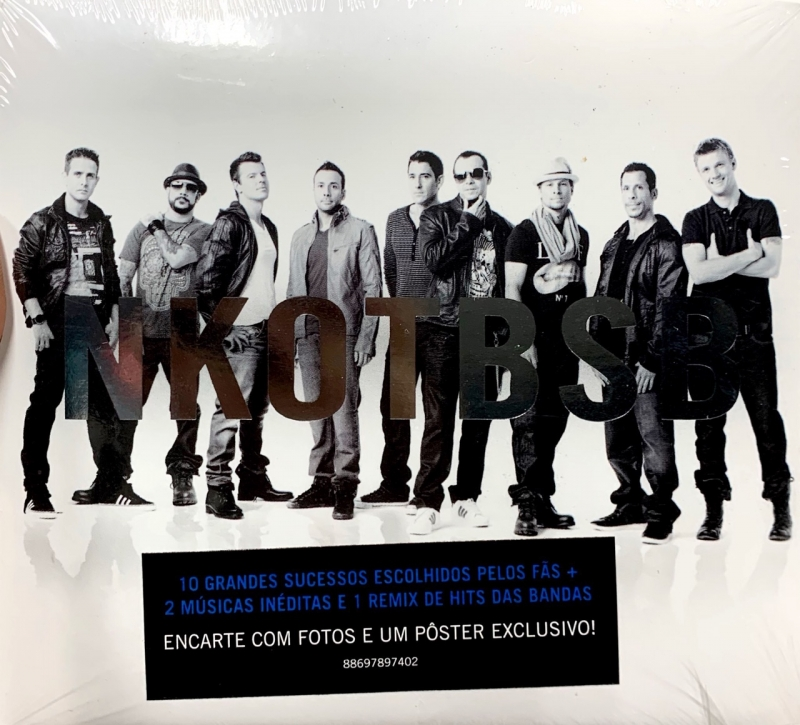 Backstreet boys e New Kids On The Block - NKOTBSB - Encarte Com Fotos E Um Poster Exclusivo