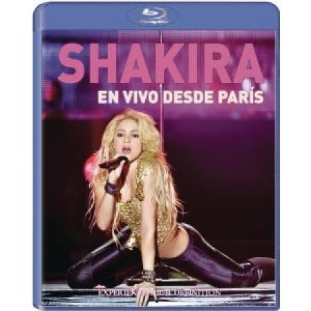 Shakira  - En Vivo Desde Paris IMPORTADO (BLU-RAY)