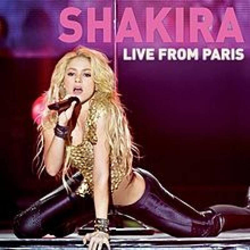 Shakira - En Vivo Desde París CD e DVD IMPORTADO LACRADO