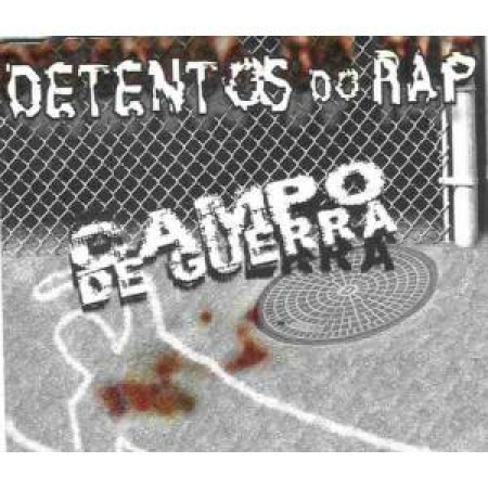 Detentos Do Rap - Campo De Guerra (CD)