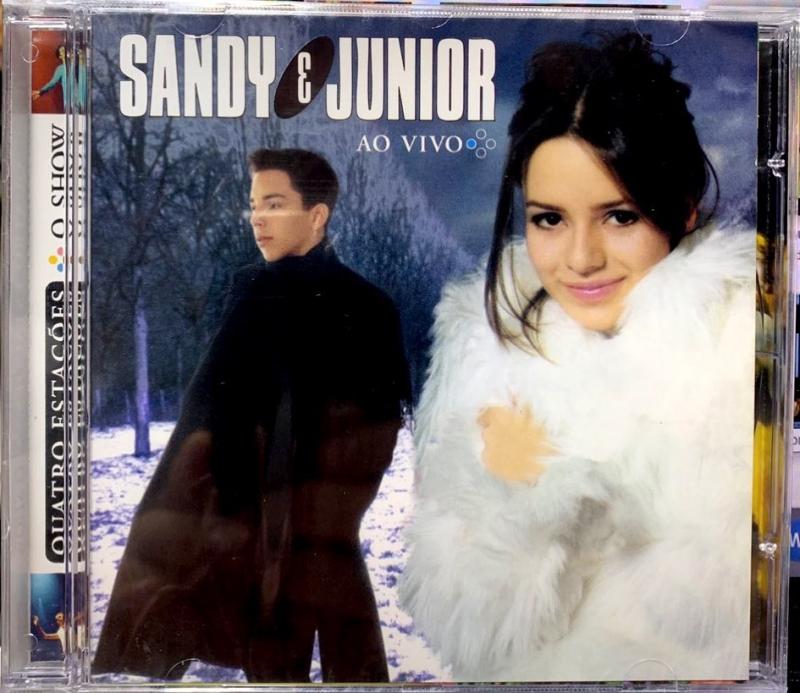 Sandy E Junior - Quatro Estações O Show Ao Vivo (CD)