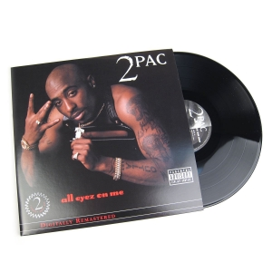 LP 2 Pac - All Eyez on Me (4 VINYL IMPORTADO LACRADO LP 2PAC)