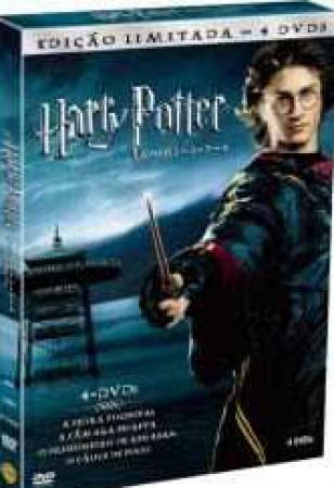 Box Harry Potter Anos 1-2-3-4 Edição Limitada