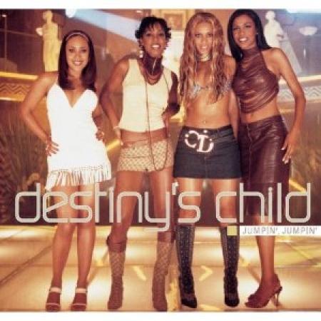 DESTINYS CHILD - Jumpin Jumpin / Upside Down CD SINGLE IMPORTADO PRODUTO INDISPONIVEL