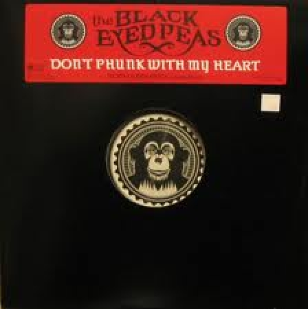 LP THE Black Eyed Peas - Dont Phunk with My Heart 12 SINGLE IMPORTADO