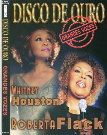 Disco De Ouro - Grandes Vozes - Whitney Houston - Roberta Flack