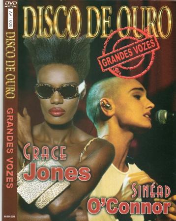 Disco De Ouro - Grandes Vozes - Grace Jones - Sinéad O Connor