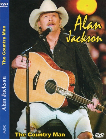 ALAN JACKSON - THE COUNTRY MAN DVD