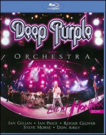Deep Purple - Deep Purple with Orchestra: Live at Montreux 2011 (Blu-Ray)