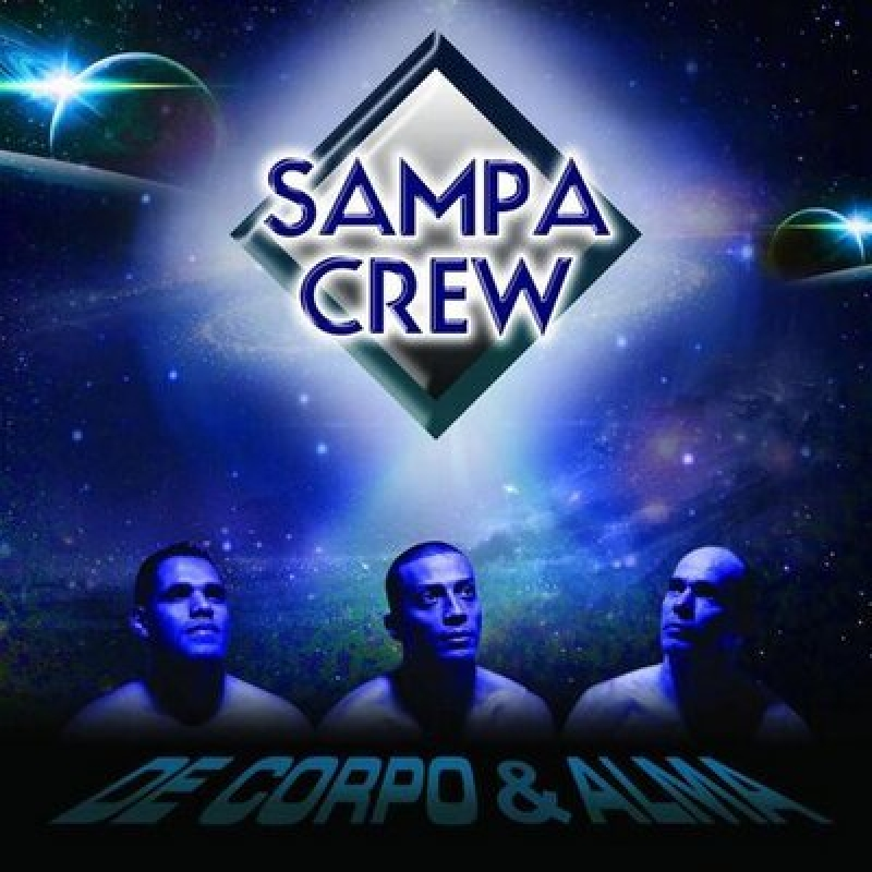 Sampa Crew - De Corpo E Alma - No Estudio 2012 (CD)