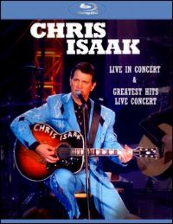 Chris Isaak: Live in Concert/ Greatest Hits Live Concert BLU-RAY