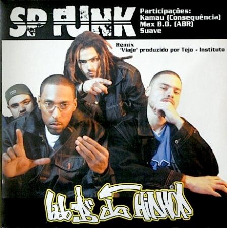 LP SP Funk - Fúria De Titãs / Cuidado / Segue a Rima / Viaje (Remix)
