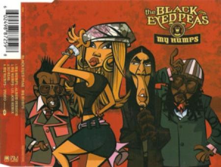 THE BLACK EYED PEAS - MY HUMPS CD SINGLE IMPORTADO