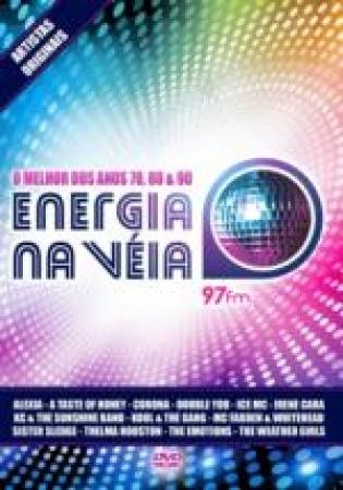 ENERGIA NA VEIA - ANOS 70 80 90 DVD