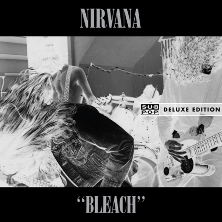LP Nirvana - Bleach (DELUXE) - 180 Gram Vinyl 2LP w/MP3 Booklets + Pictures