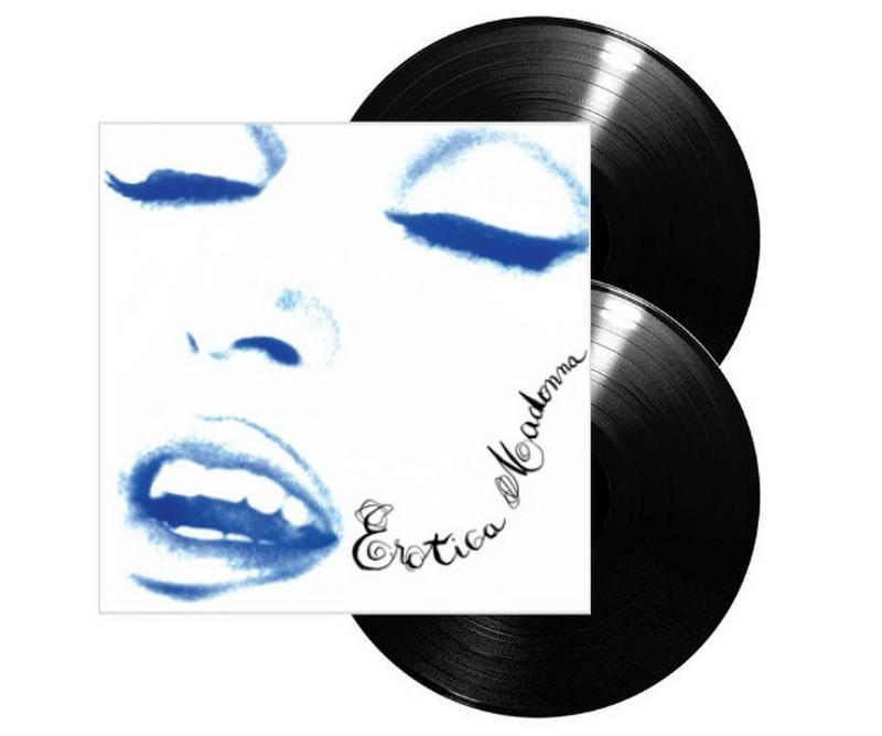 LP Madonna - Erotica (VINYL DUPLO IMPORTADO LACRADO) 180GRAMAS