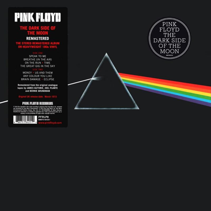 LP Pink Floyd - Dark Side of the Moon 180g (VINYL IMPORTADO LACRADO)