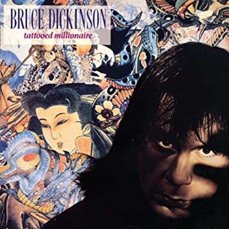 Bruce Dickinson - Tattooed millionaire (CD)