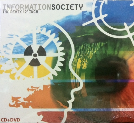 INFORMATION SOCIETY - THE REMIX 12 INCH CD e DVD (DUPLO)