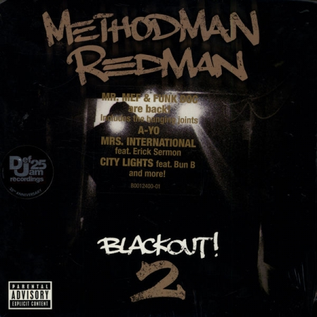 LP Method Man & Redman - Blackout! 2 VINYL DUPLO IMPORTADO (LACRADO)