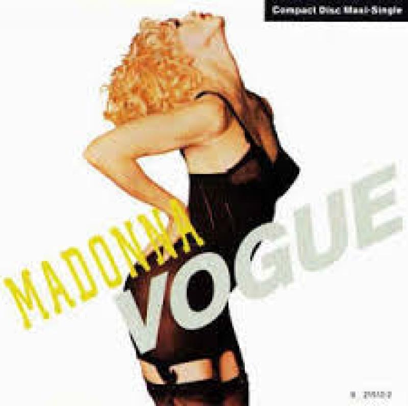 Madonna - Vogue CD SINGLE IMPORTADO (075992151320)