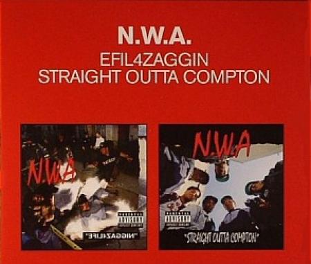 NWA - Efil4zaggin E Straight Outta Compton Made In England (CD DUPLO IMPORTADO LACRADO)