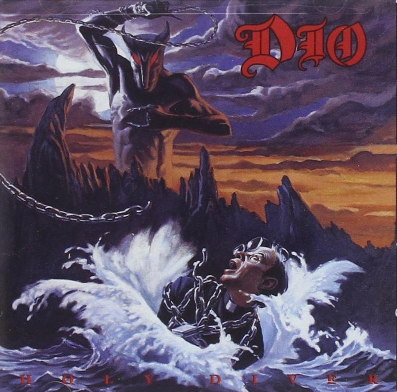 DIO - Holy diver (CD IMPORTADO LACRADO)