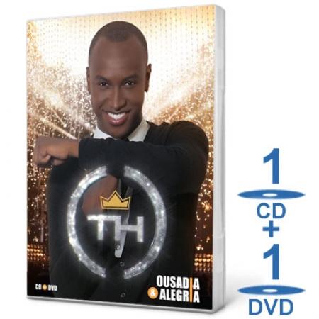 CD + DVD Thiaguinho - Ousadia & Alegria