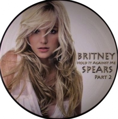 LP Britney Spears - Hold It Against Me 2 VINYL Picture