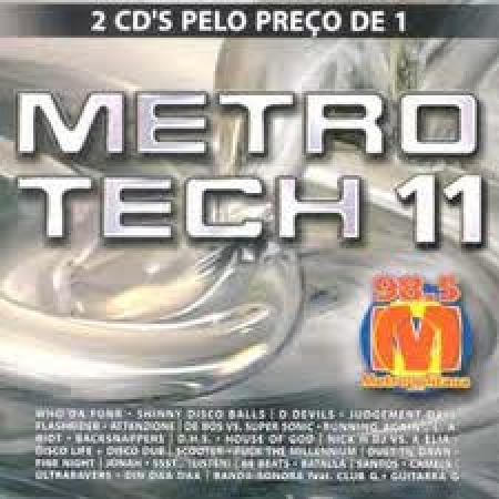 Metro Tech Vol. 11 - Building ( Duplo ) PRODUTO INDISPONIVEL