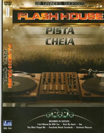 Flash House - Pista Cheia 20 Grandes Sucessos DVD