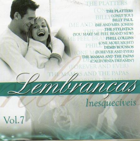 Lembranças Inesqueciveis - Vol. 07 (CD)