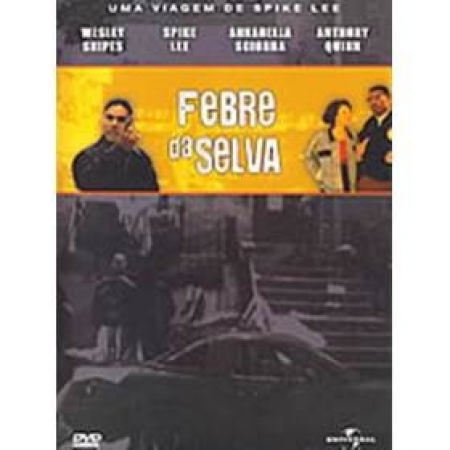 DVD Febre da Selva - Uma Viagem De Spike Lee