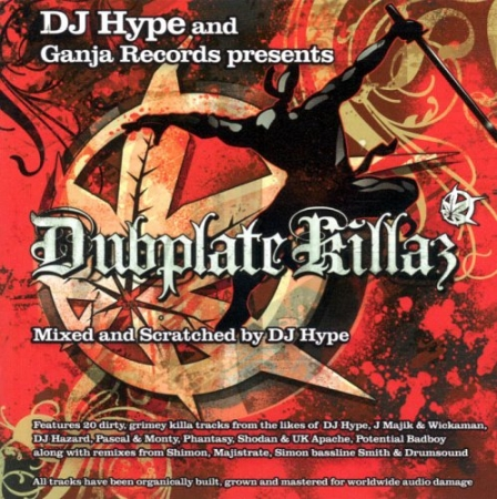 Dj Hype - And Ganja Records Presents Dubplate Killaz PRODUTO INDISPONIVEL