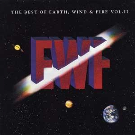 EARTH WIND & FIRE THE BEST OF VOL.2 CD