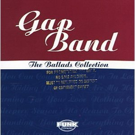 GAP BAND - THE BALLADS COLLECTION CD