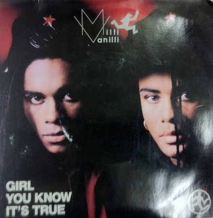 MILLI VANILLI - GIRL YOU KNOW ITS TRUE LP 7 POLEGADAS