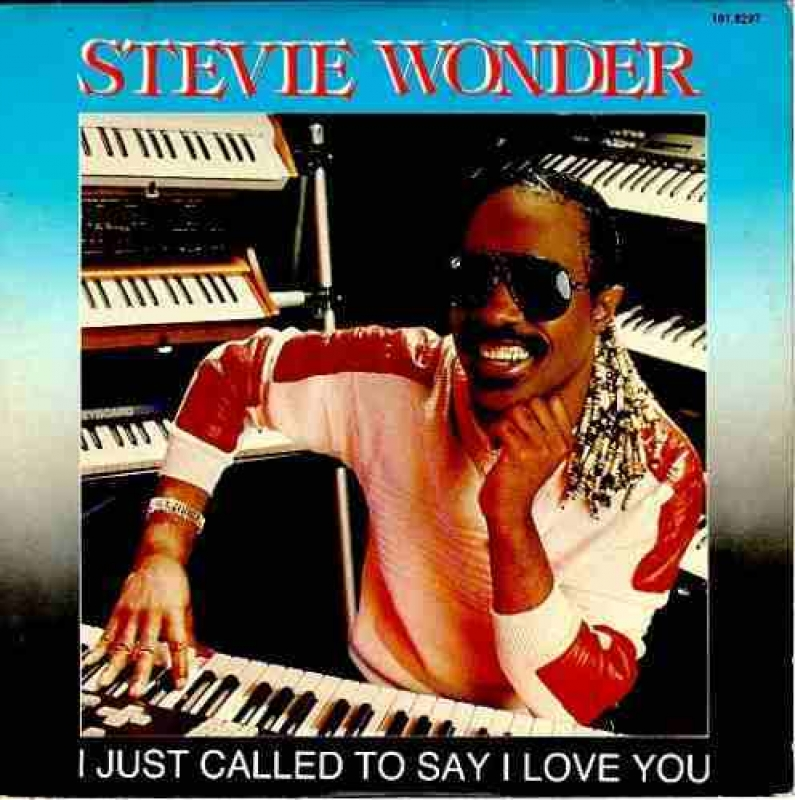 LP STEVIE WONDER - I JUST CALLED TO SAY I LOVE YOU