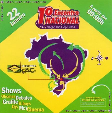 Naçao Hip Hop Brasil - Vol. 1 (CD)