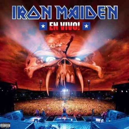LP Iron Maiden - En Vivo Edição Limitada Vinyl Picture (LACRADO)