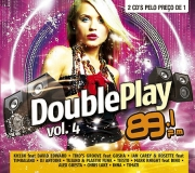 CD DOUBLE PLAY VOL.4 - DUPLO - 89 FM