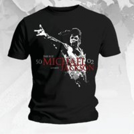 Camiseta Michael Jackson - Tamanho GG Masculina Importado