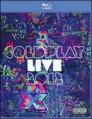 Coldplay: Live 2012 BLU-RAY + CD IMPORTADO