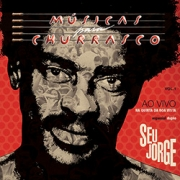 Seu Jorge - M�sicas para Churrasco Ao Vivo - Vol.1 CD (Duplo)
