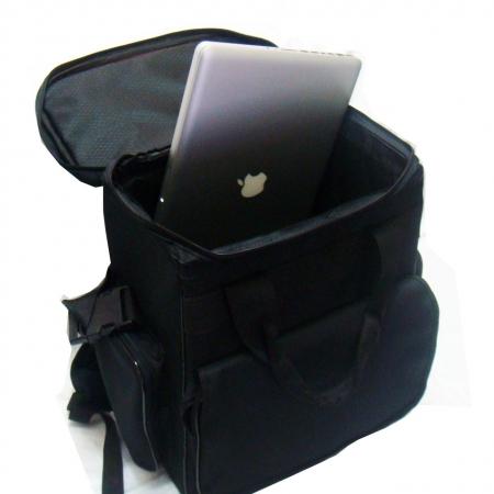 Bag para vinil preta