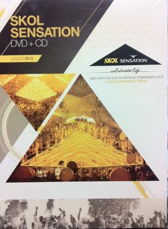 Skol Sensation - Edição 2012  Dvd + CD